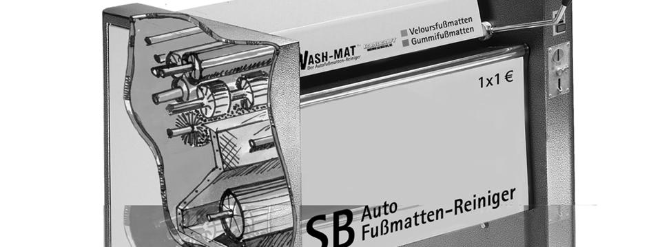 Wash-Mat Self-Serve Auto Car Mats Washing Machines Models: